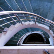 Modern spiral stairs — Stock Photo