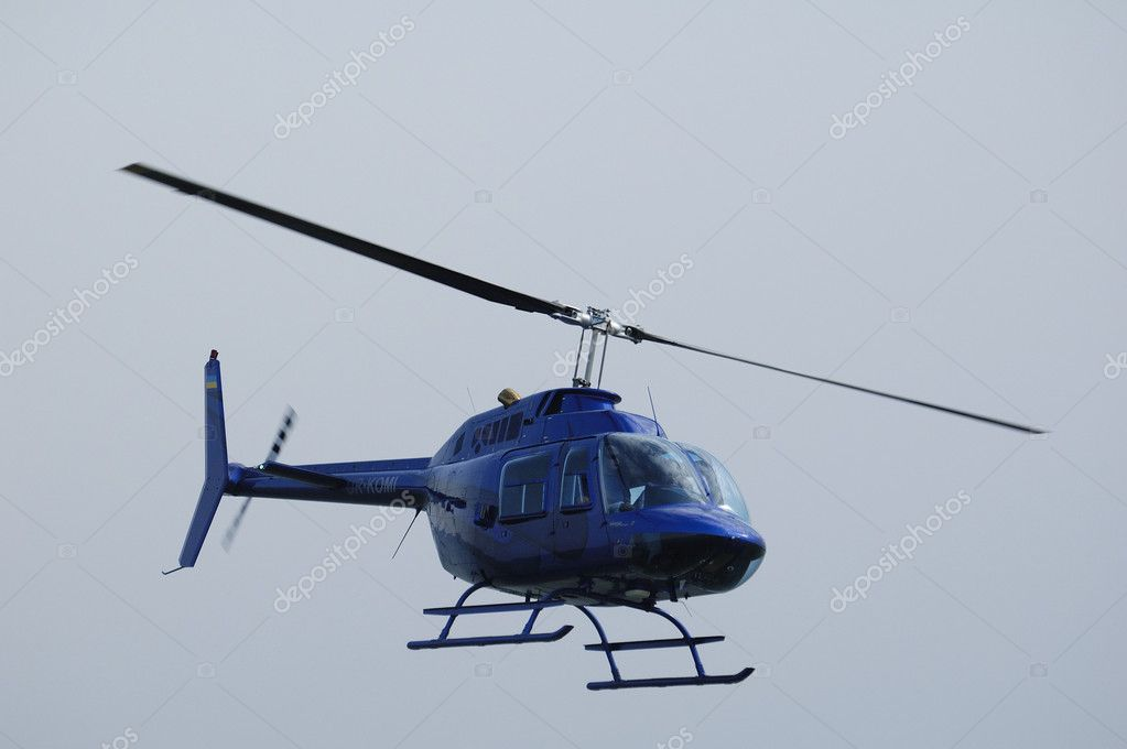 Flying helicopter — Stock Photo #1094869