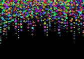 Resumen puntos de luz del color — Foto de Stock
