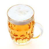 Pint mug of beer — Stock Photo