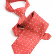 Red necktie — Stock Photo