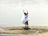Po ślubie — Zdjęcie stockowe