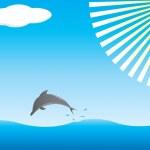 Dolphin — Stock Vector