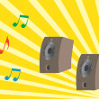 Royalty-Free Stock Vector Image: Loudspeakers