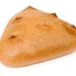 Loaf of bread on a white background — Stock Photo