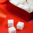 Sugar and heart — Stock Photo #1671649