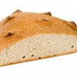 Loaf of bread on a white background — Stock Photo #1799729