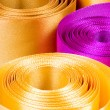 Color ribbon background — Stock Photo