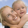Royalty-Free Stock Photo: Picture of happy mother with baby