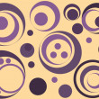 Royalty-Free Stock Vector Image: Seamless pattern with violet circles