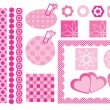 Royalty-Free Stock Vector Image: Design elements for scrapbooking