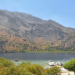 Panoramic view of Lake Kournas, Crete — Stock Photo #1162968