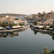 View of the Agios Nikolaos — Stock Photo