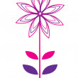 Vector flower — Stock Vector #1194764