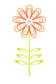 Vector flower — Stock Vector