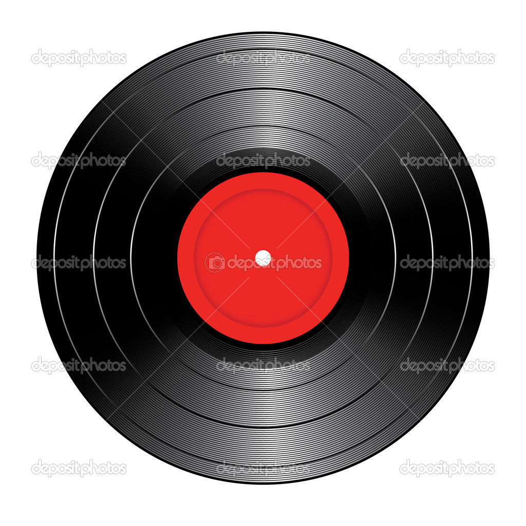 Vector vinyl record — Stock Vector #1376873