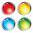 Cool web buttons — Stock Vector