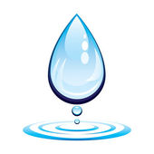 Water drop — Stock Vector
