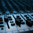 Audio Mixer - Foto Stock