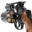 Revolver with bullets — Stock Photo #1053628