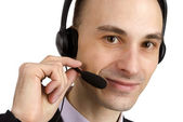Customer service agent — Stock Photo
