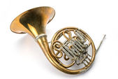 Old horn — Stock Photo
