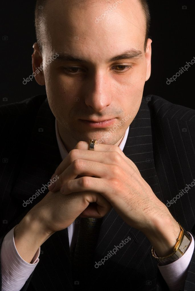 Young man thinking — Stock Photo #1052474