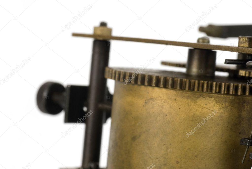 Old clockwork mechanism  Stock Photo #1053280