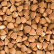 buckwheat texture closeup — Stock Photo