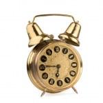antiguo reloj de alarma — Foto de Stock