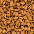 Closeup of instant coffe texture — Stock Photo #1061042
