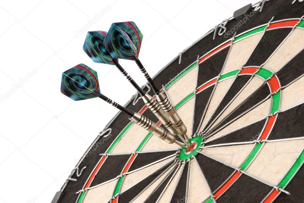 Dart Board — Stock Photo © spaxiax #1061537