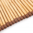 Matches close up on white background — Stock Photo #1071579
