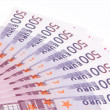 Stock Photo: Five hundred Euro banknotes