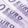 Backgrounds of euro - Stock Photo