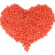 Royalty-Free Stock Photo: Plastic red heart