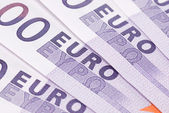 Backgrounds of euro — Stock Photo