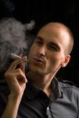 Smoker — Stock Photo