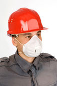Dust Mask Respirator — Stock Photo