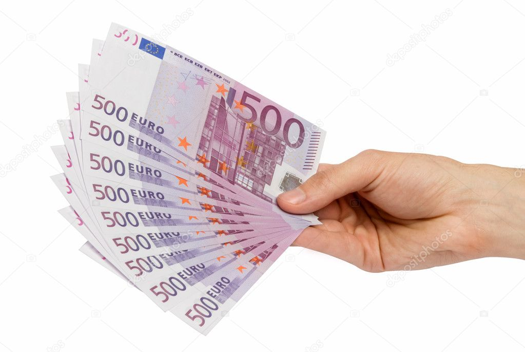 Money ih the hand — Stock Photo #1071773