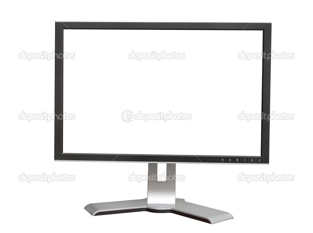 Modern display on a white background  Stock Photo #1071976