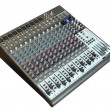 Audio mixing board — Stock Photo