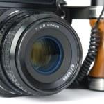 Medium format camera — Stock Photo