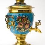 Samovar - old russian teapot — Stock Photo #1099702