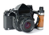 Medium format camera — Stock Photo