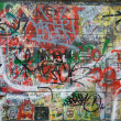 Stock Photo: Graffiti background