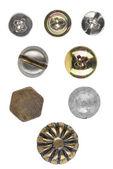 Various screws head — Stock Photo