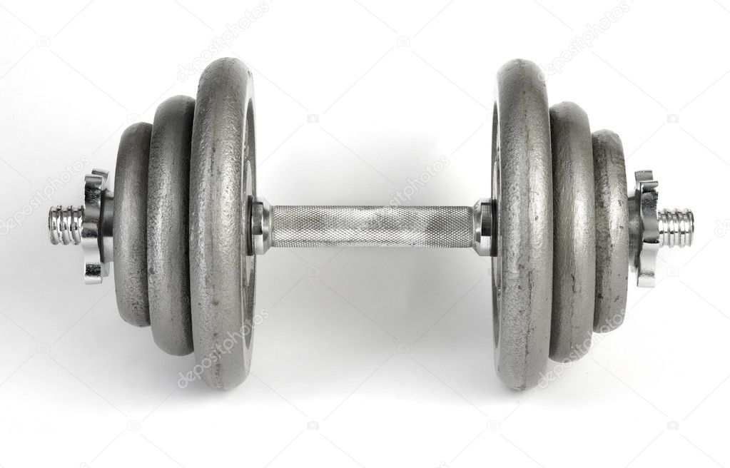 Dumbbell  Foto de Stock   #1138879