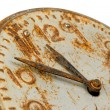 Old rusty Clock Face — Stock Photo #1140348