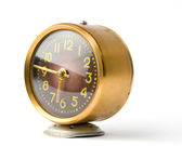 A broken old alarm clock — Stock Photo
